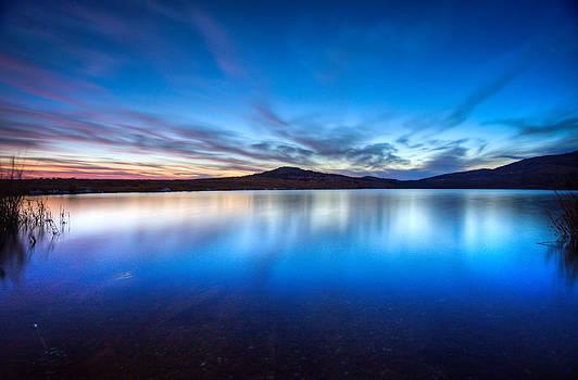 Sunset over the Reserve by Jeremy D Taylor