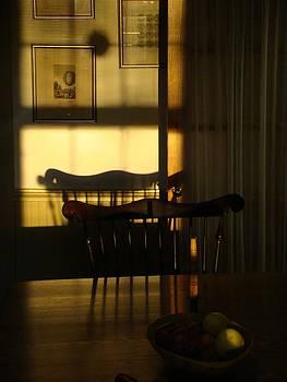 Sunset shadows by Mark Haley
