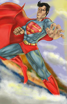 Superman by Quinetta Middlebrooks