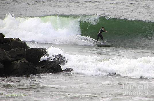 Surfin Around The Rock by Larry Keahey