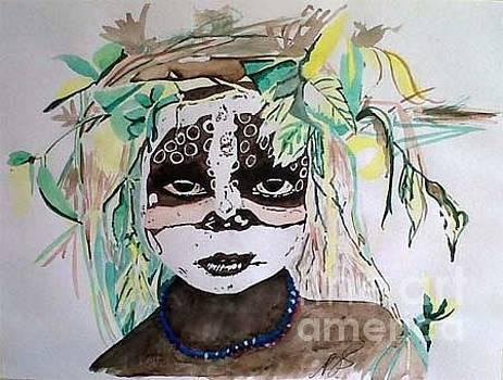 Surma Tribe II. by Paula Steffensen