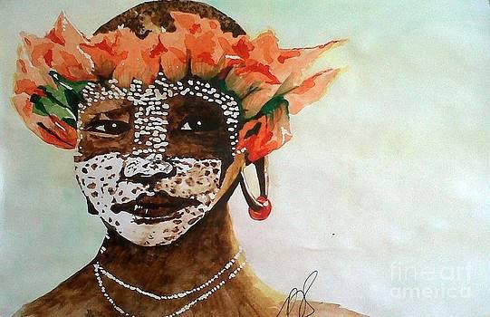 Surma Tribe III. by Paula Steffensen
