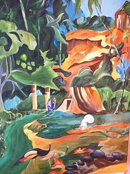 Surreal Forest by Barbara Ruzzene