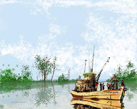 Jim Hubbard - Swamp Boat