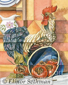 Sweet Persimmons by Elinor Sethman