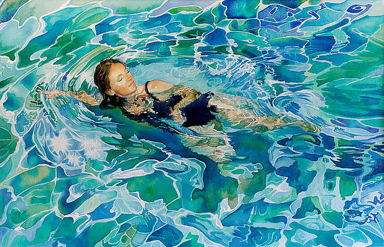 Swimmer by Gilly Marklew