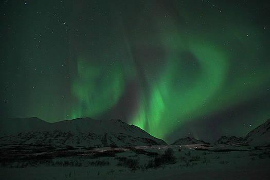 Swirling Northern Lights by Sam Amato