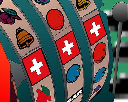 Swiss Slot Machine by Casino Artist