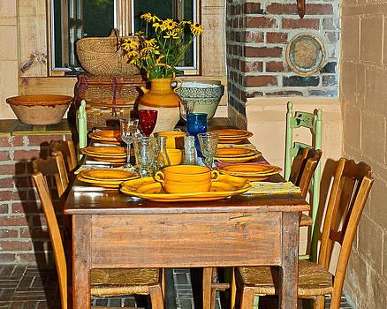 Tabletop by Susan Leggett