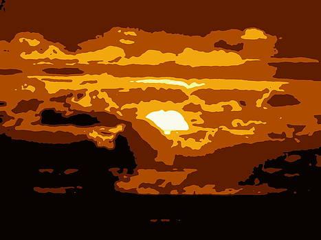 Ramona Johnston - Tahiti Sunset