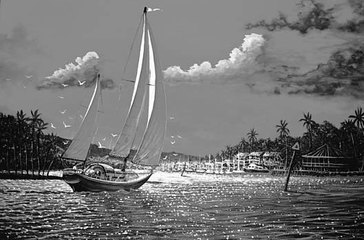 Tahitian Moon by Joseph   Ruff