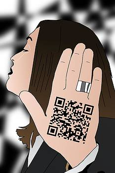 Talk to the hand 'cause the QR code understands by Casino Artist