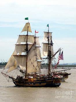 Ming Yeung - Tall ship