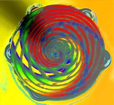 Tambourine by Rod Saavedra-Ferrere