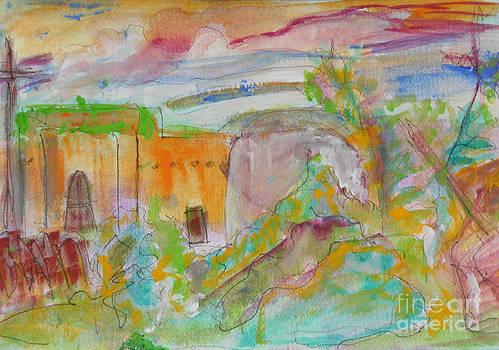Taos Color Rising by Denise Lumiere