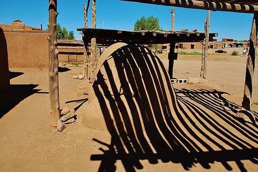 Taos Pueblo reflections by Dany Lison