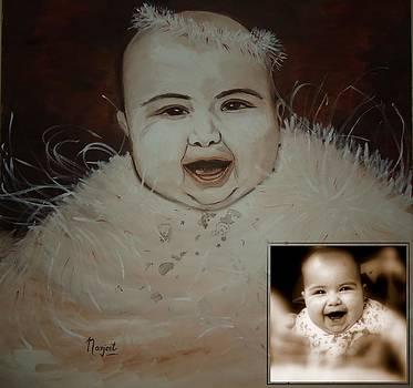 Taveesha....the Angel by Navjeet Gill