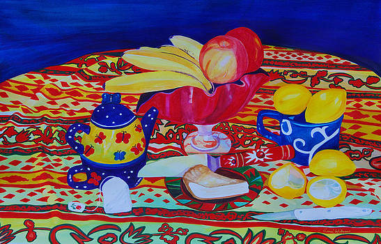 Tea and Pie by Rene LeGrue