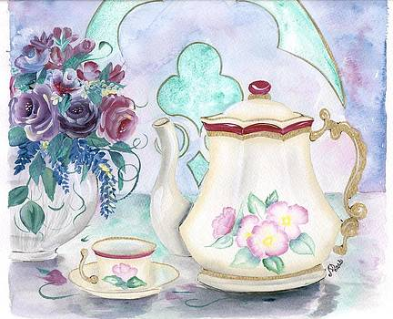 Tea Time by Peggy Mars