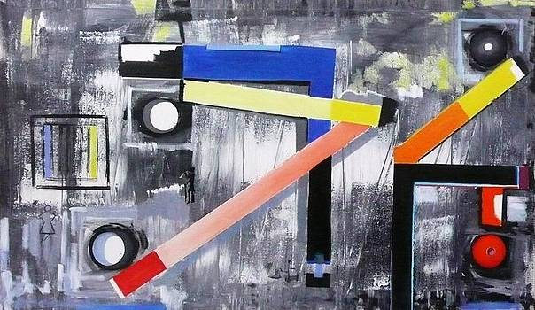 Tecnonet n 8 by Sandro Sabatini