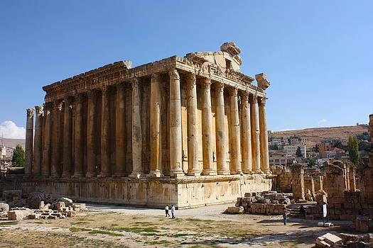 Yvonne Ayoub - Temple of Bacchus Baalbek