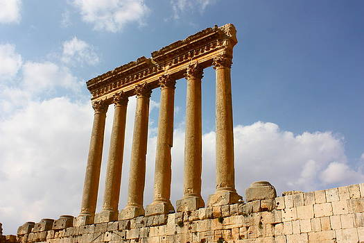 Yvonne Ayoub - Temple of Jupiter Baalbek
