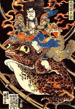 Roberto Prusso - Tenjiku Tokubi Riding Giant Toad