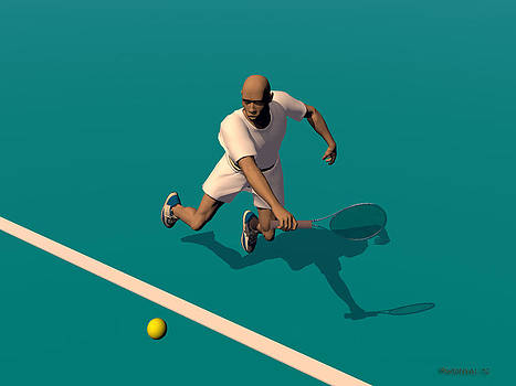 Walter Oliver Neal - Tennis Player 1