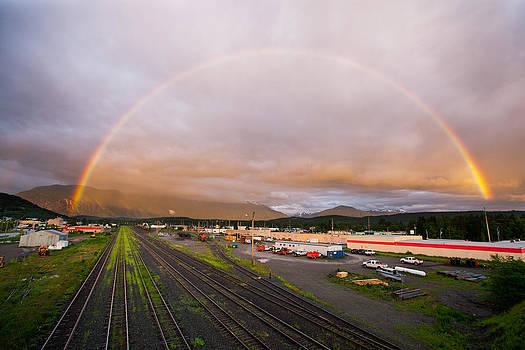 Terrace Rainbow by Brandon Broderick
