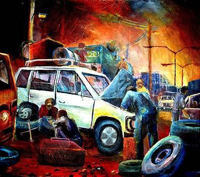 Tha Garage by Mayanja Richard weazher