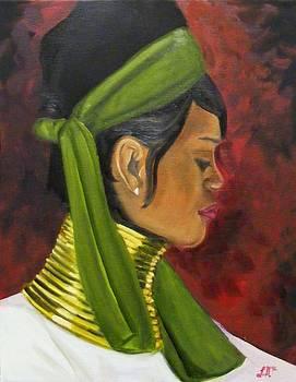 Thai Woman by Laura Evans
