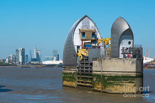 Thames Barrier by Andrew  Michael