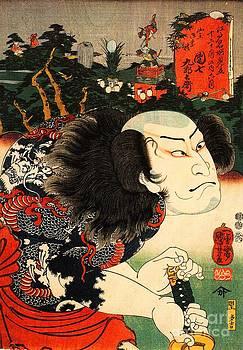 Utagawa Kuniyoshi - The Actor