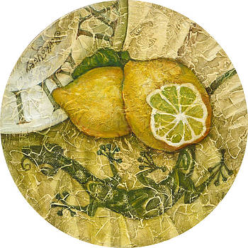 The aroma of a lemon by Yury Salko