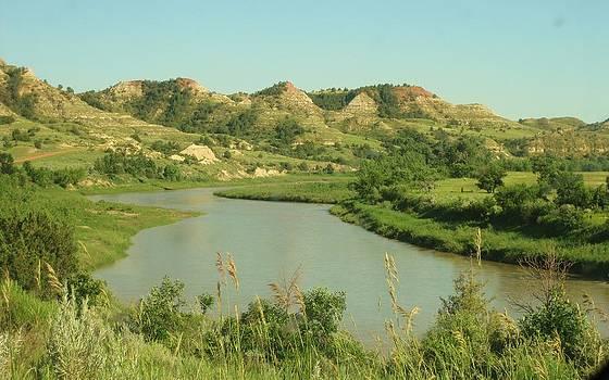 The Badlands of North Dakota by Trish Pitts