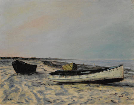 The Beach at Plymouth by William Frew