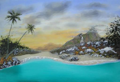 The beach by Larry Cirigliano