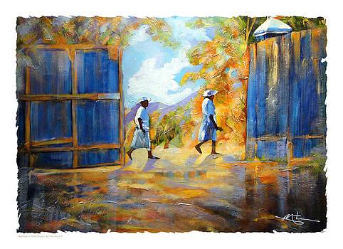 The Blue Gates Of Haiti by Bob Salo