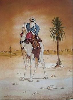 The Blue Man by Abbas Djamat