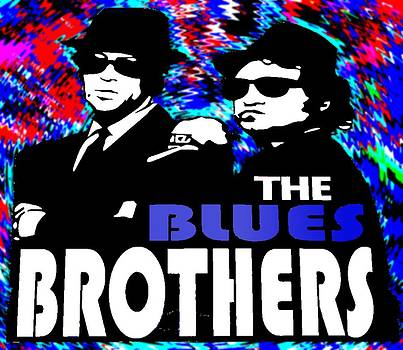 The Blues Brothers by Rod Saavedra-Ferrere
