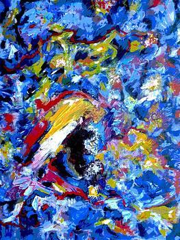 The blues by Samuel Daffa
