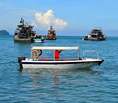 The Boat by Ku Azhar Ku Saud