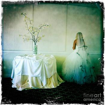 The bride takes a moment by Nina Prommer