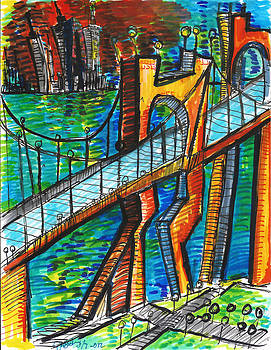 Jon Baldwin  Art - The Bridge