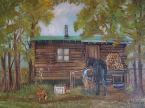 The Cabin by Jan Holman