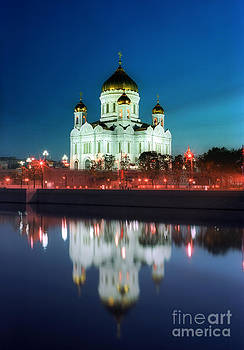 The Cathedral of Christ the Savior Moscow  by Sergey Korotkov