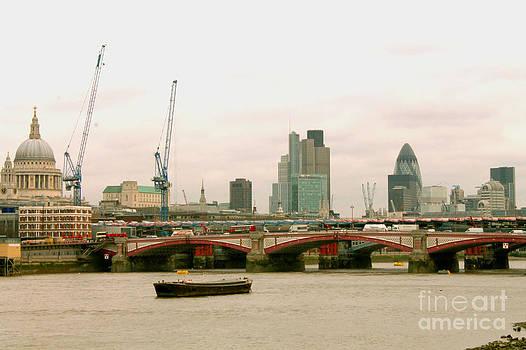 The City of London by Betul Salman
