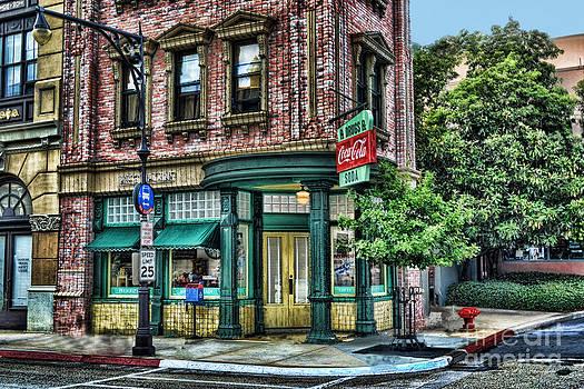 The Corner Drug Store by Arnie Goldstein