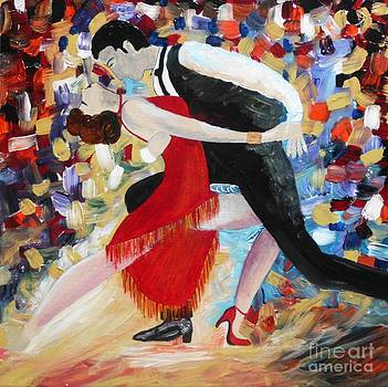 The dance by Dawn Plyler