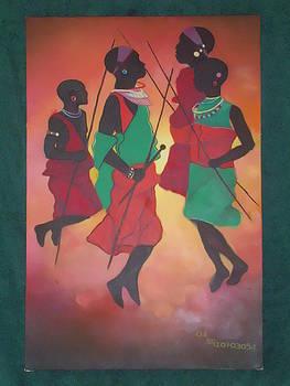 The Dance by Kenneth Otelu